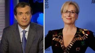 Kurtz: Meryl Streep goes shockingly off-script