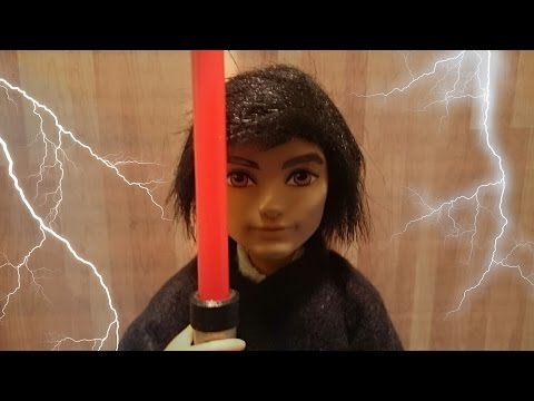 How to make a doll lightsaber