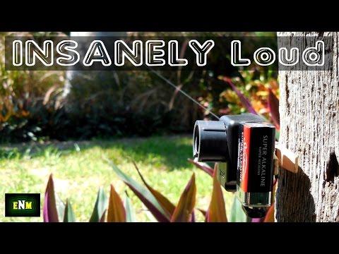 Insanely Loud Trip Wire Alarm(DIY)
