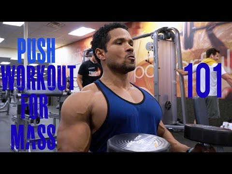 (PPL)PUSH WORKOUT FOR MASS 101- CHEST-SHOULDER-TRICEPS