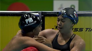 2 3 Finish For The Philippines In Womens 100m Breaststroke Event 2019 SEA Games