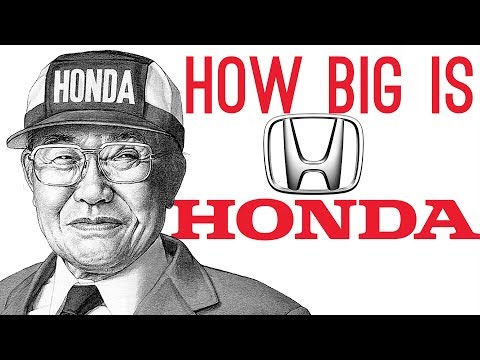 How BIG is Honda? (They Make Jets!)