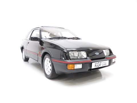 An Extremely Rare and Pristine Ford Sierra XR4i with only 45,056 Miles From New - SOLD!
