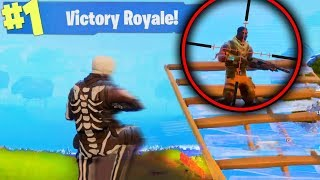 THE TRICKSHOT MEME! (Fortnite Battle Royale)