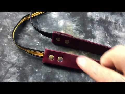🤔 DIY: Tough & simple camera strap. The 'simple strap'