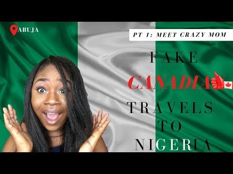 1ST TIME IN NIGERIA SINCE MOVING TO CANADA! - Pt 1: I CANNOT BELIEVE MY MOM 😱 #4DLOMVLOGS PT 1