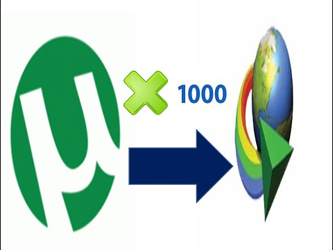 How to Download Torrent Files 100 times faster With IDM
