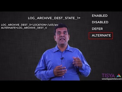 Parameters for Archiving in an Oracle database - Backup&Reco Video 7