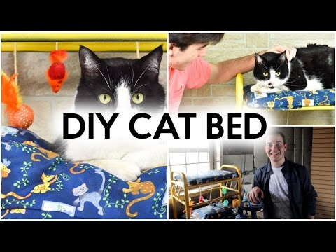 DIY CAT BED | THRIFT STORE DIY IDEA