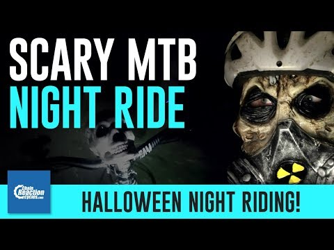 Scary Halloween MTB Night Ride