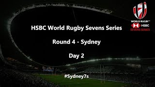 We're LIVE for day two of the HSBC World Rugby Sevens Series in Sydney #Sydney7s