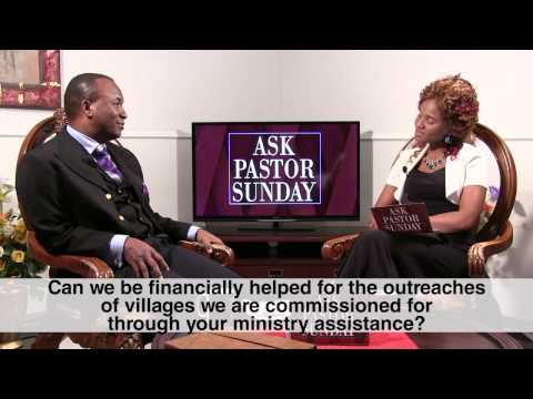 How I Plan To Help Nigerian Churches Who Need Financial Assistance - Pastor Sunday
