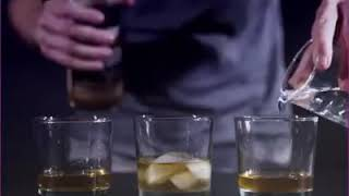 Right way to drink whiskey.