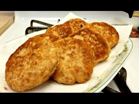 Crispy Tuna and Potato Cakes - Tortitas de Atun y Papa