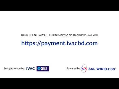 How to do online payment for Indian Visa application?