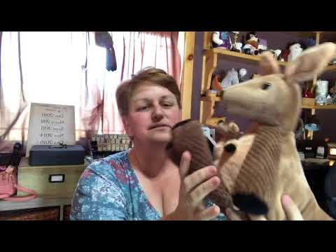 Scentsy Buddy Kenzie the Kangaroo