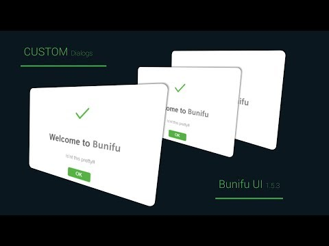 Custom Success Dialog (messageBox)  Winforms C# programming Bunifu UI