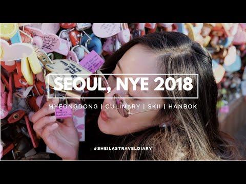 A Week In Seoul (Myeongdong, Gangnam, Nami, Skii, Culinary!) | Sheila Nadhifa