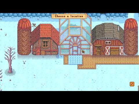 Stardew Valley #79 | Update! new buildings and moving structures