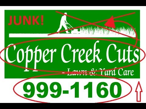 BAD Lawn Care Business Yard-Sign Design!