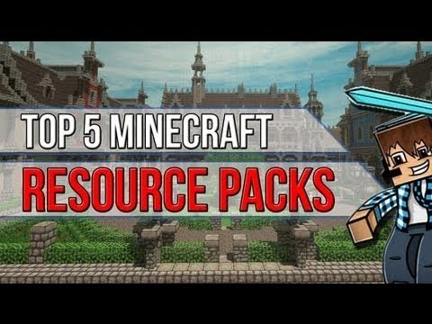 Minecraft 1.7.9 - Top 5 Resource Packs - FPS + Quality