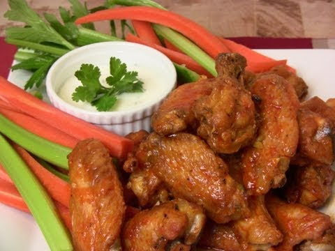 Super Bowl Recipe: Garlic & Habanero Hot Wings and Lemon Pepper Wings |Cooking With Carolyn|