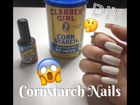 Cornstarch Nails | DIY | Does It Work?
