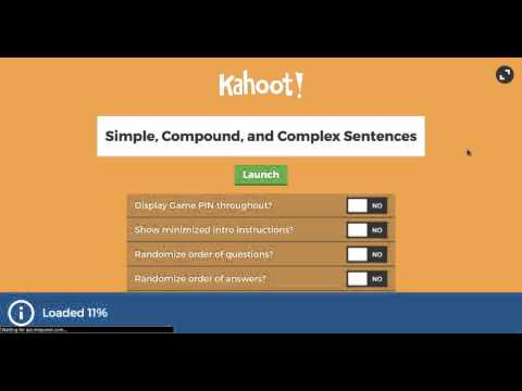 Kahoot- How to Guide