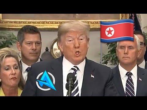 TRUMP *FINALLY* CANCELS NORTH KOREA *SECRET* SUMMIT *NEW*