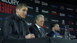 GLORY Redemption: Press Conference Highlights