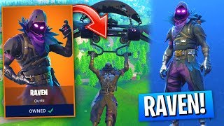new raven skin gameplay in fortnite battle royale the best new legendary - fortnite new legendary skins