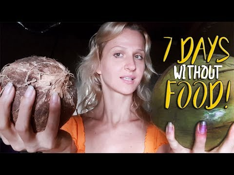 I'm Not Going To Eat ➤ 7 Day Coconut Water Fast ➤ Brain Cleanse | Detox