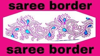 Drawing Saree Border Videos 9tube Tv