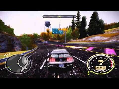 Need For Speed Most Wanted - Drift with Mustang GT
