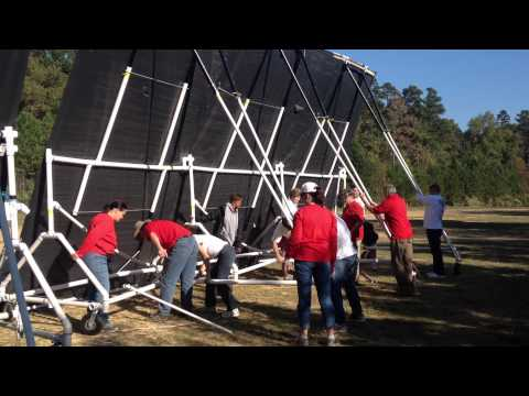 South Meck Marching Band Prop Deployment