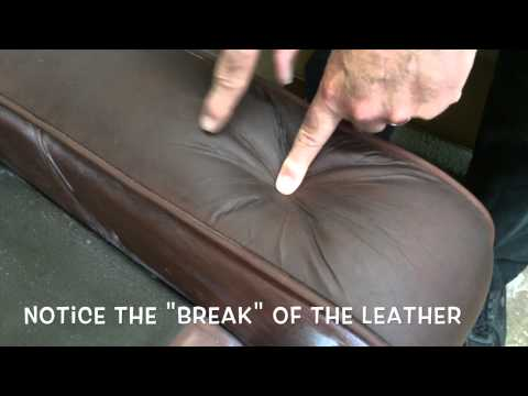 Body Oils in Leather - How it breaks down the leather