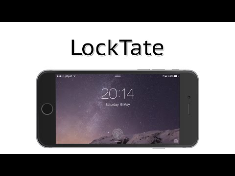 Rotate the Lock Screen on iOS | LockTate Cydia Tweak Review