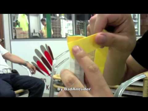 How to Wrap a Grip on a Badminton Racket