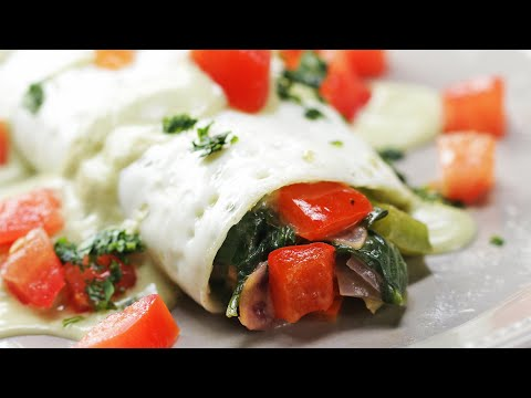 Delicious Low-Carb Egg White Omelette