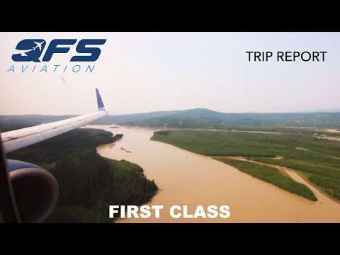 TRIP REPORT   Delta Airlines - 737 800 - Seattle (SEA) to Fairbanks (FAI)   First Class