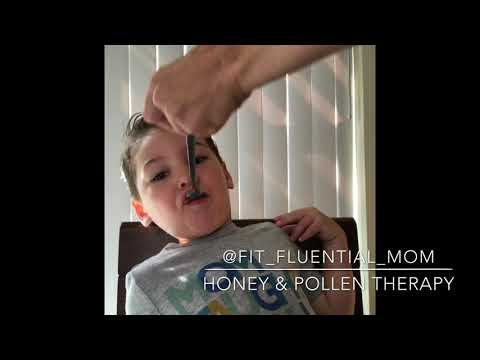 Honey & Bee Pollen Therapy for Allergies