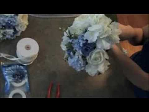 Wedding Bouquet - How to make it fast and cheap