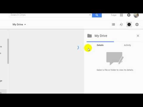 How to change folder location in Google drive