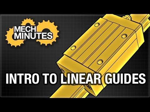 INTRO TO LINEAR GUIDES - LINEAR MOTION #1 | MECH MINUTES | MISUMI USA