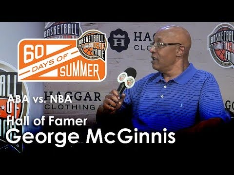 George McGinnis talks about playing in both the ABA and NBA