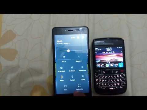 Memindahkan kontak telepon dari Balckberry ke Android