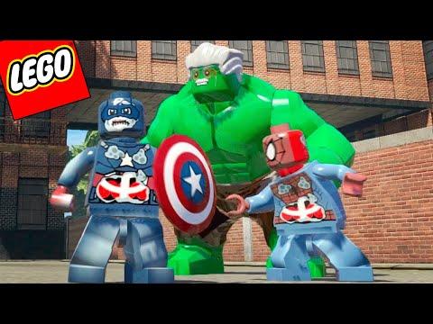 LEGO Marvel Super Heroes EXTRAS #33 - HERÓIS ZUMBIS VS STAN LEE HULK (mod)