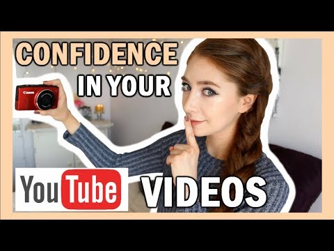 How To Be Confident On Camera & Feel Comfortable In Videos | 20 Tips For YouTube Channels!