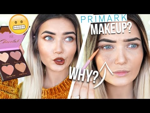 TESTING NEW PRIMARK MAKEUP! TOO FACED DUPES? HIT OR MISS?
