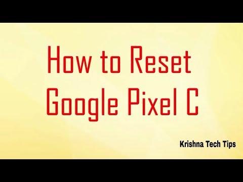 Google Pixel C Hard Reset - How to Unlock - Forgot Password